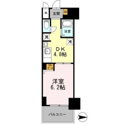 カスタリア日本橋高津 / 313 部屋画像1