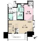 ザ・パークハウスアーバンス御成門 / 3f4 部屋画像1