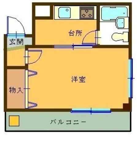 グリーンハイム / 2階 部屋画像1