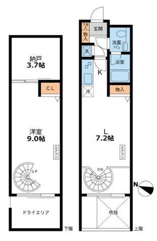 アーデン目黒通り(旧ミルーム目黒通り) / -1階 部屋画像1