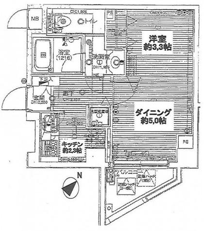 デュオ・スカーラ品川大井町 / 305 部屋画像1