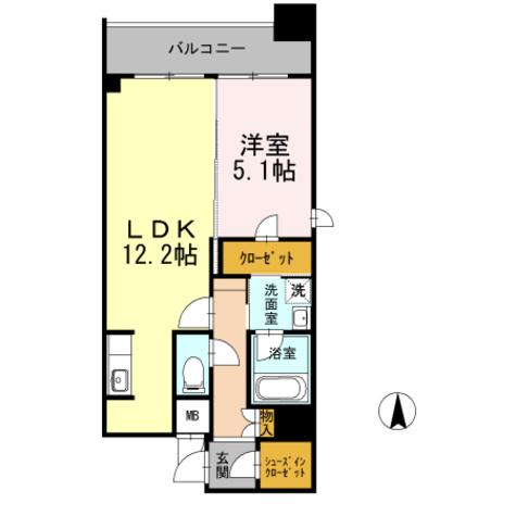 カスタリア堺筋本町 / 1504 部屋画像1