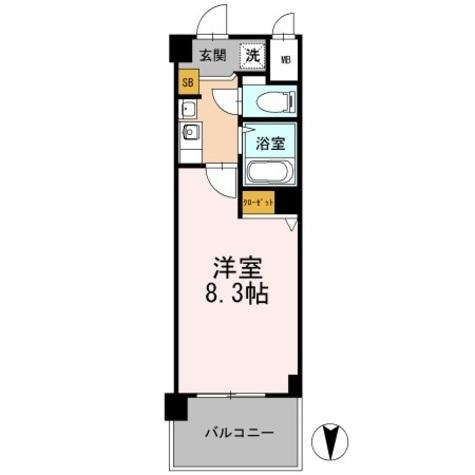 カスタリア日本橋高津 / 214 部屋画像1