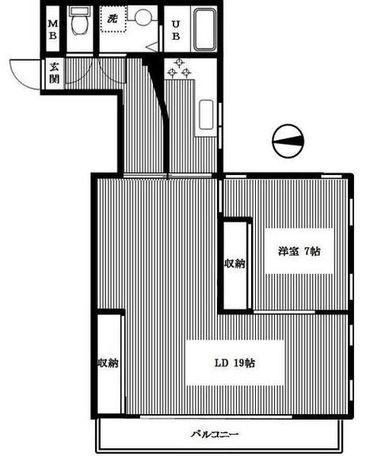 プライム御殿山 / 3f2 部屋画像1