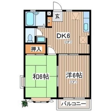 ホワイトコート鵠沼 / 203 部屋画像1