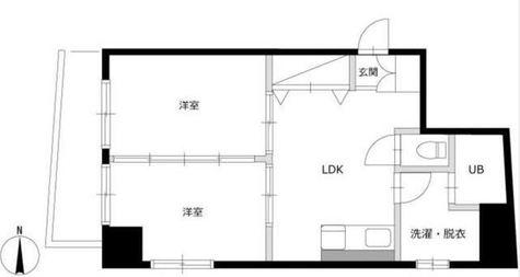 エルスタンザ南品川 / 11f2 部屋画像1