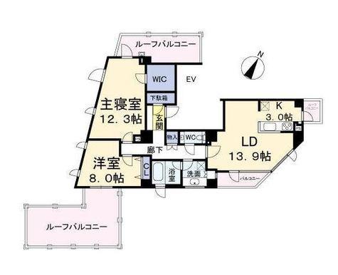 グレイスコート目黒(Grace Court Meguro) / 10F 部屋画像1