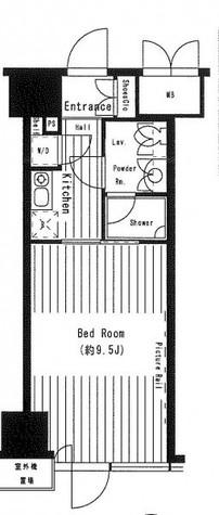 岩本町 4分マンション / 2階 部屋画像1
