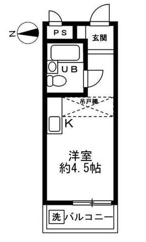 トップ高輪台 / 2f11 部屋画像1