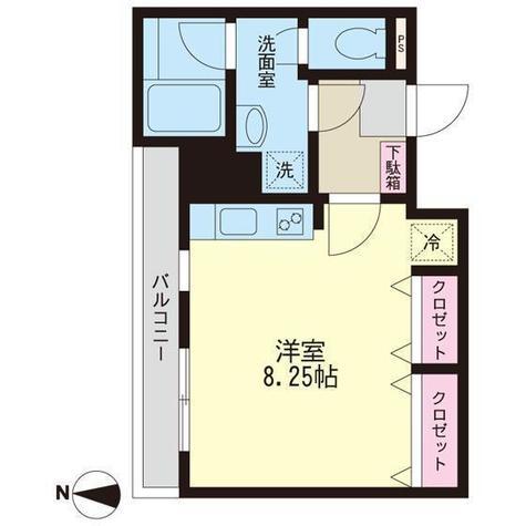 日生土地戸越マンション / 4階 部屋画像1