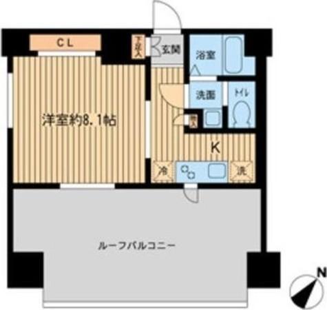 ルラシオン町田 / 1203 部屋画像1