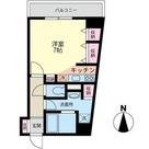 メゾン ミュゲ(すずらん) / 3f2 部屋画像1
