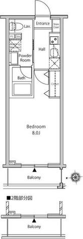 仮称 新宿御苑一棟マンション / 802 部屋画像1