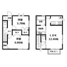 上の宮2丁目賃貸住宅 / A 部屋画像1