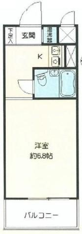 グランドメゾン新宿御苑 / 6階 部屋画像1