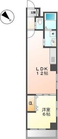 フェリシダージ鶴舞 / 2階 部屋画像1