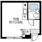 エコロルーム富岡 / 102 部屋画像1