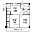 織戸ハイム / 2f2 部屋画像1