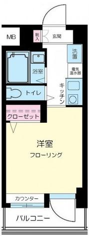 ダイアパレスステーションプラザ武蔵新城 / 327 部屋画像1