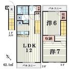 セレ大森弐番館 / 2f1 部屋画像1