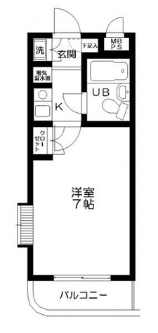 日神パレス三ツ沢公園 / 202 部屋画像1