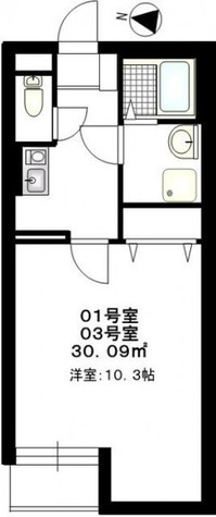 b'CASA Tsuzuki(ビーカーサ都筑) / 302 部屋画像1
