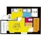 b'CASA Yokohama Higashi / 102 部屋画像1