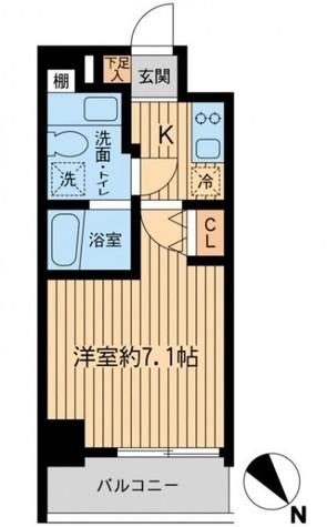 レジディア本厚木 / 801 部屋画像1