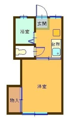 プティ・ヴィラージュ / 1階 部屋画像1