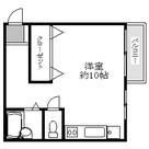 第一天野ハイツ / 4階 部屋画像1