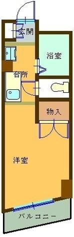 アーバンコアビル / 2階 部屋画像1