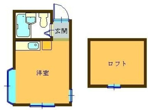 幡ヶ谷ハイム / 207 部屋画像1