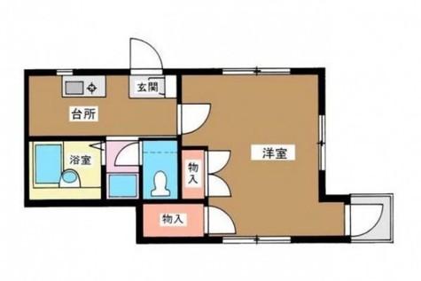 サウサリート山本 / 301 部屋画像1