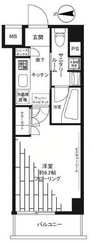ステージグランデ大森アジールコート / 1階 部屋画像1