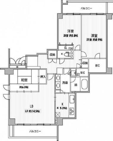 レックス宮前平 / 4階 部屋画像1