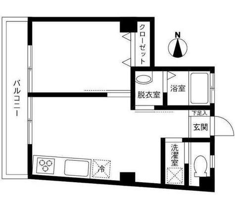 豊分コーポラス / 2階 部屋画像1