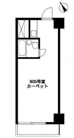 カプリース青山 / 7階 部屋画像1