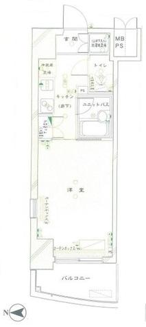 ルーブル蒲田壱番館 / 12階 部屋画像1