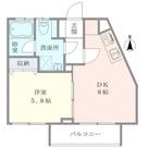 ウェルハウス東大井 / A棟203 部屋画像1