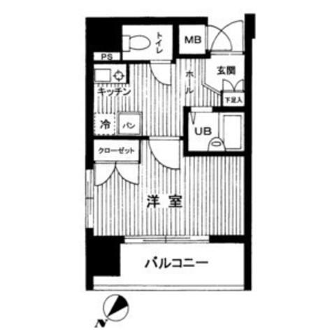 ヴェルト目黒西 / 3階 部屋画像1