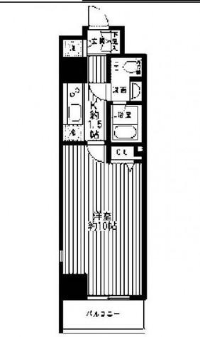 レガーロ御茶ノ水Ⅰ / 802 部屋画像1