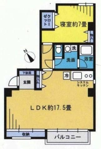 ST青山 / 6階 部屋画像1