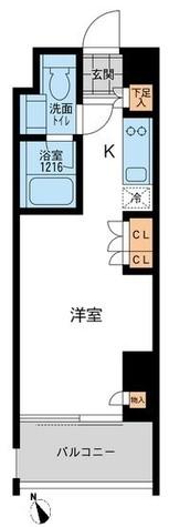 アーデン五反田 / Dタイプ 部屋画像1
