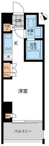 アーデン五反田 / Cタイプ 部屋画像1