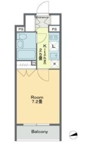 ベルファース戸越スタティオ / Cタイプ 部屋画像1