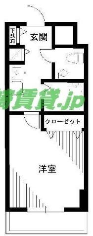 ロリエタワー川崎 / 1110 部屋画像1