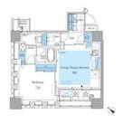 パークアクシス月島マチュアスタイル / 1LDK(46.56㎡) 部屋画像1