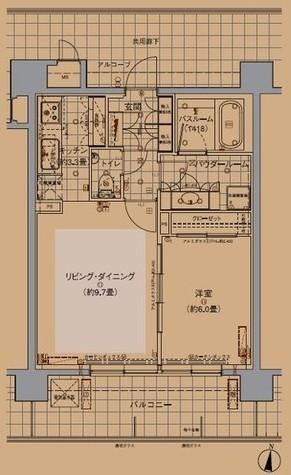マイネシュロッス四谷 / 8階 部屋画像1
