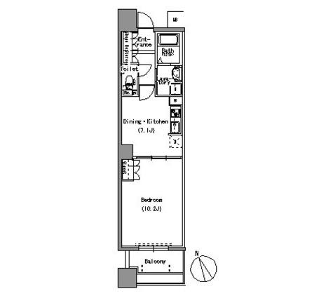 パークアクシス白壁 / 405 部屋画像1