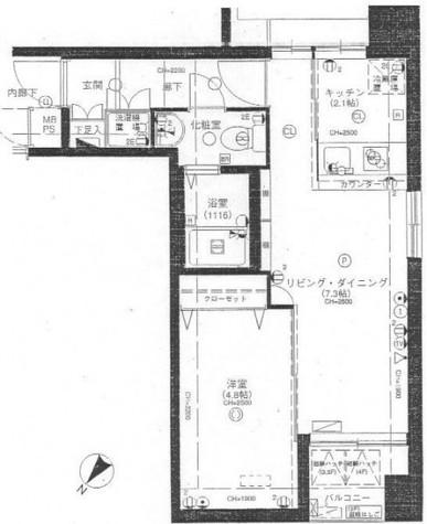 スカーラ武蔵小山 / 5階 部屋画像1